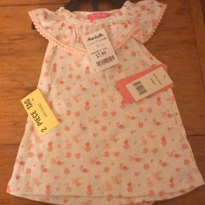 Isaac Mizrahi Floral dress with bloomers 12M